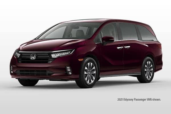 New 2021 Honda Odyssey EX Passenger Van