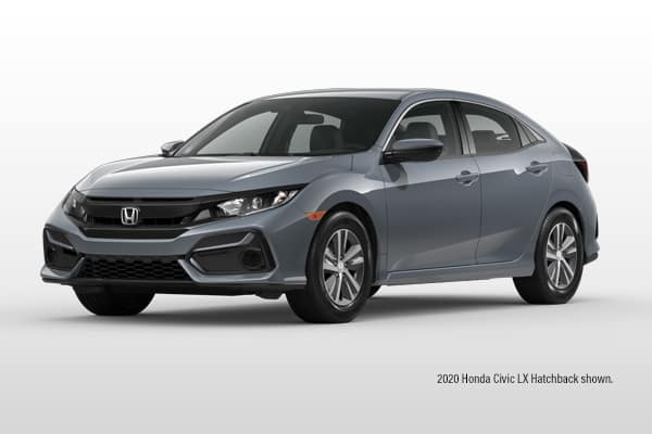 New 2020 Honda Civic LX CVT Hatchback