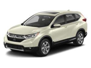 2017 Honda CR-V in White
