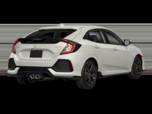 2018 Honda Civic hatchback rear