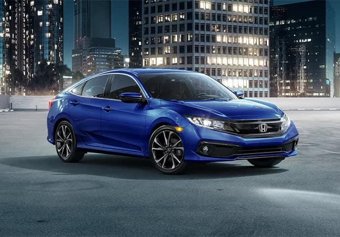 2020 Honda Civic exterior lifestyle