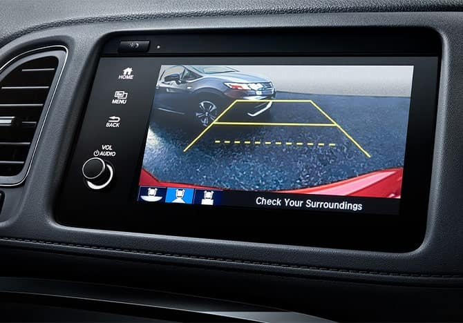 Honda HR-V backup camera