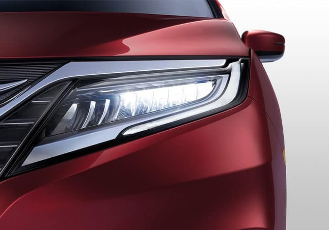 2020 Honda Odyssey Headlight Design