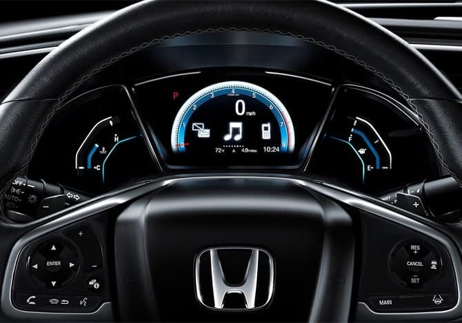 Honda Civic digital gauge