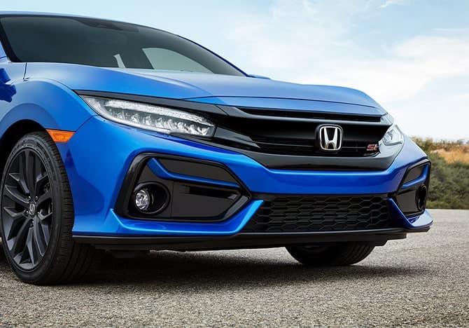 Honda Civic Si grille