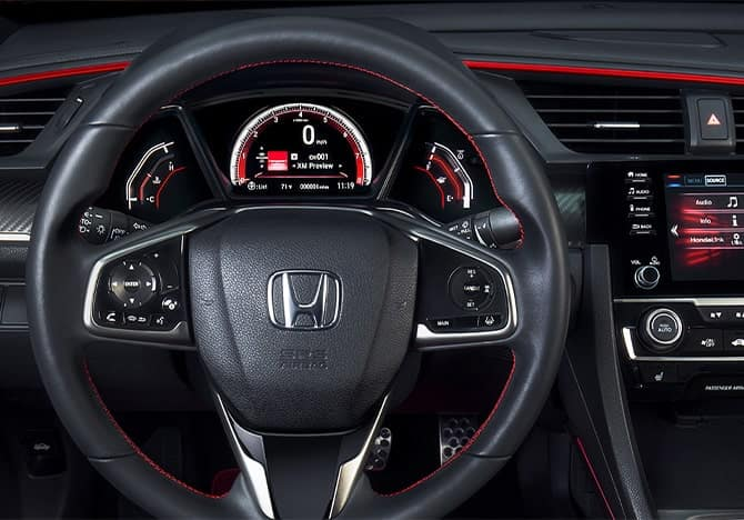 Honda Civic Si Cockpit
