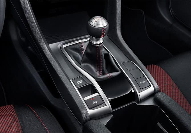 Honda Civic Si shifter