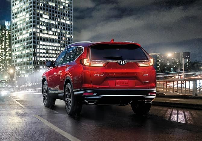 Honda CR-V Exterior - rearview
