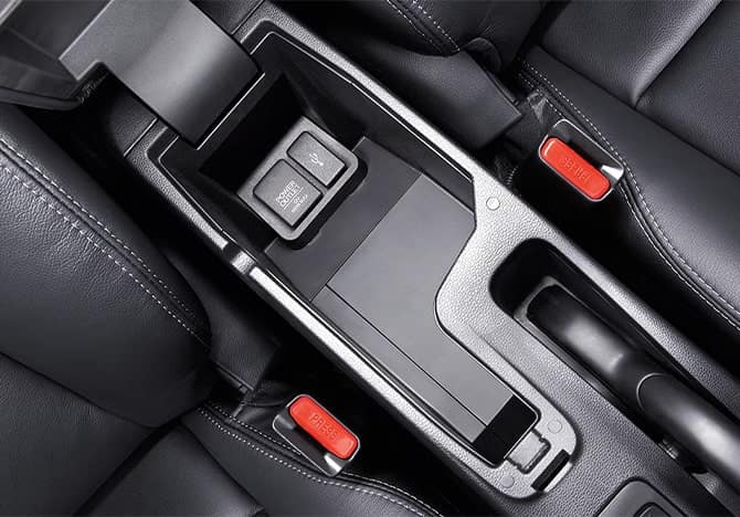 Honda Fit Center Console
