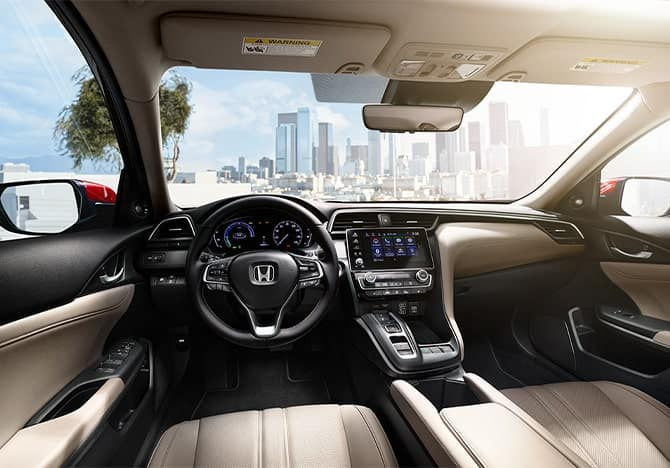 Honda Insight interior - cockpit