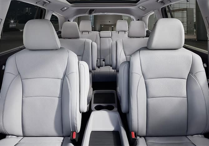 Honda Pilot seating