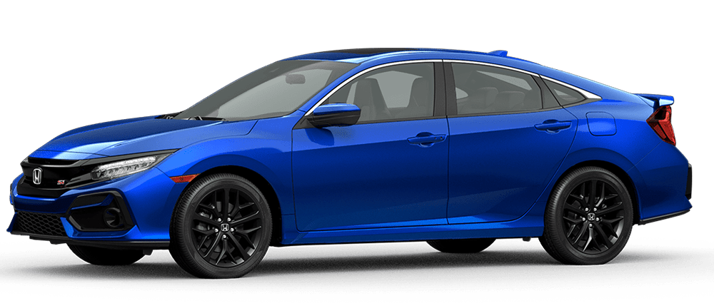 2020 Civic Si - Aegean Blue Metallic