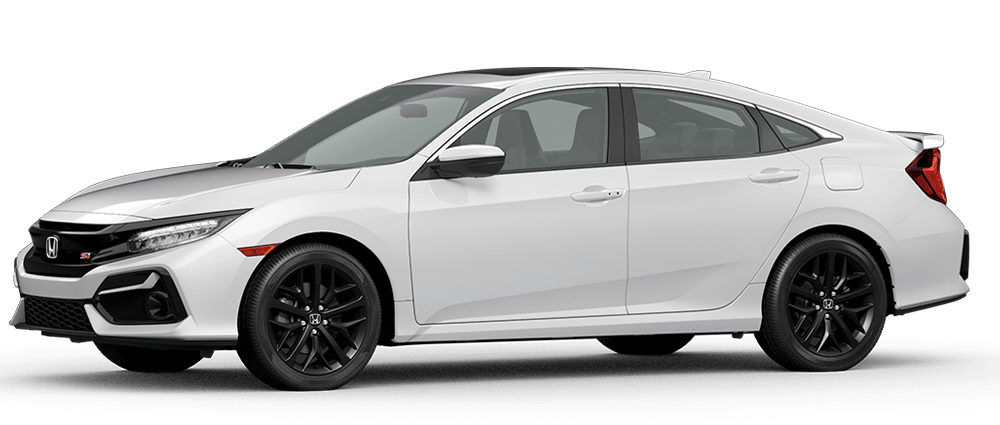 2020 Civic Si - Platinum White Pearl