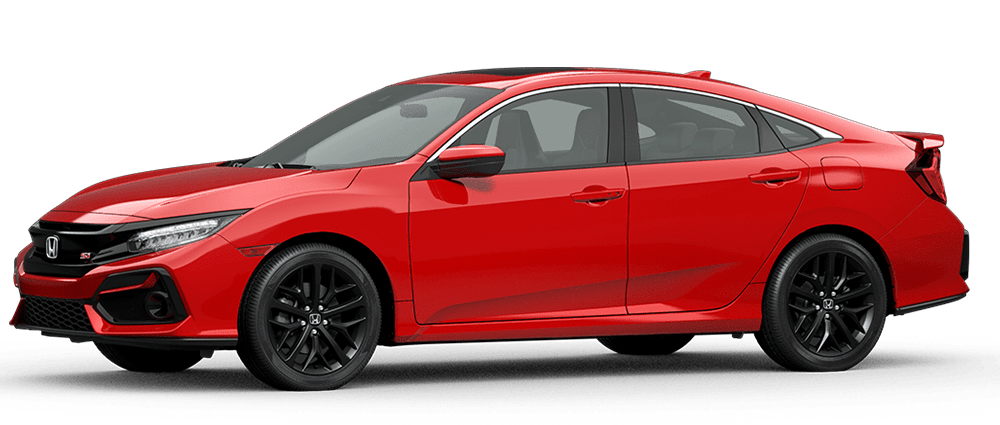 2020 Civic Si - Rallye Red