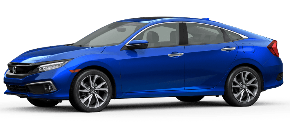 2020 Civic - Aegean Blue Metallic