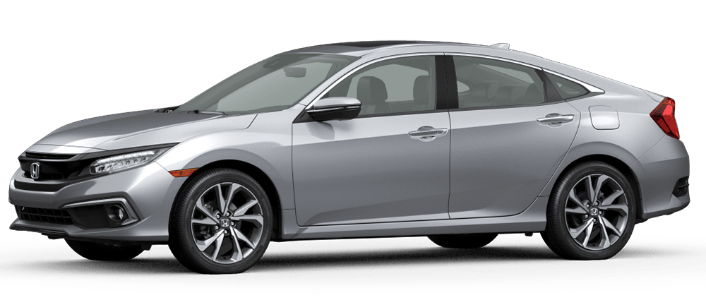 2020 Civic - Lunar Silver Metallic