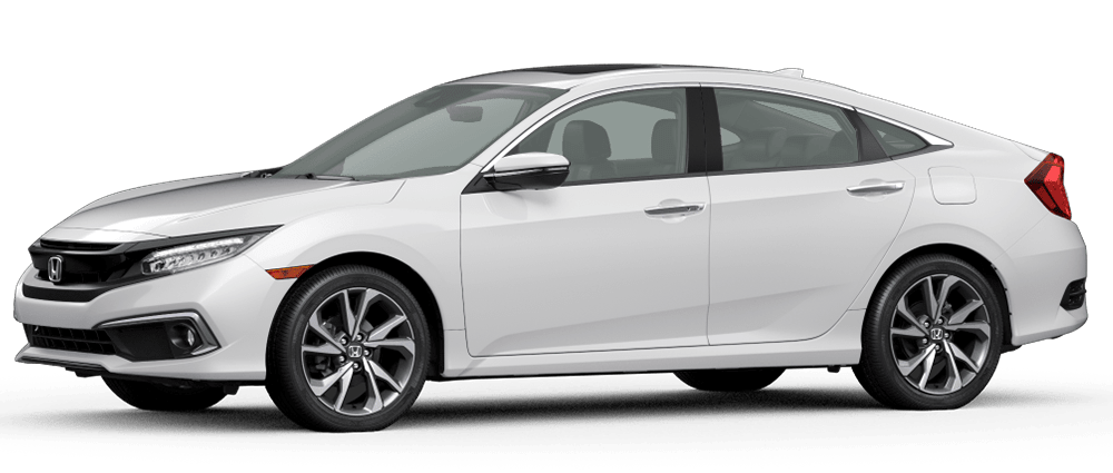 2020 Civic - Platinum White Pearl