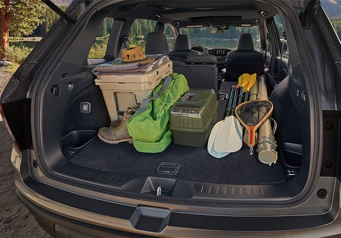 Honda Passport Interior - Cargo area