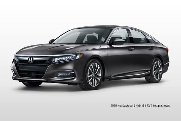 New 2020 Honda Accord Hybrid CVT Sedan