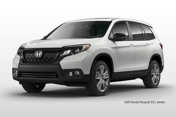 New 2020 Honda Passport EX-L AWD SUV