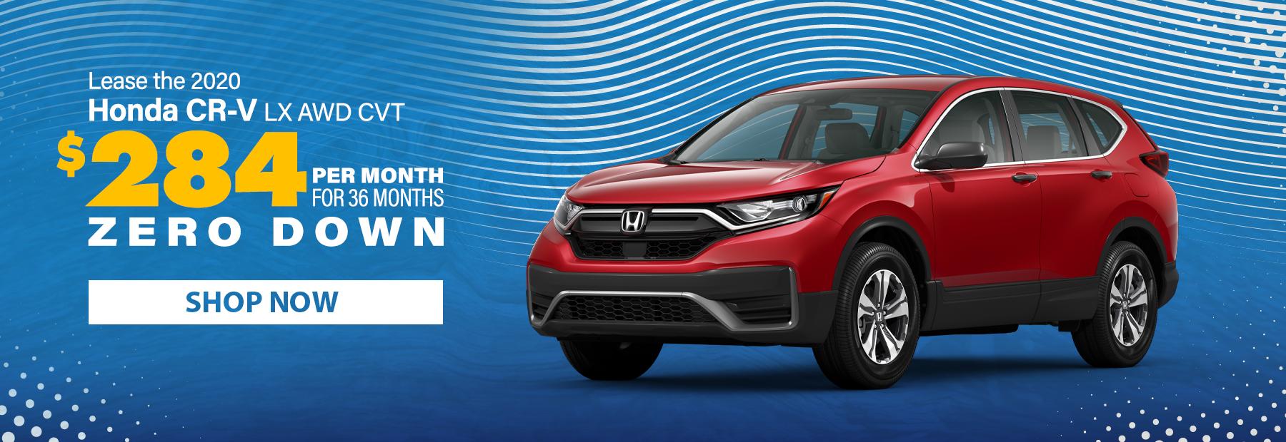 Lease a 2020 Honda CR-V LX AWD CVT SUV
