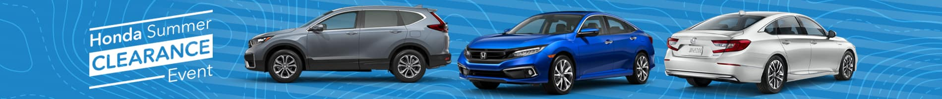 Honda Summer Clearance Sales Event in Fairfield