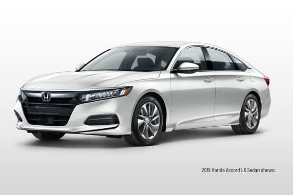New 2019 Honda Accord LX CVT Sedan