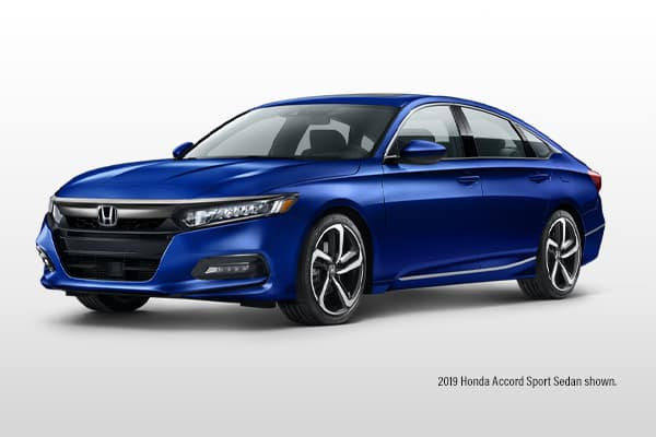 New 2019 Honda Accord Sport CVT Sedan