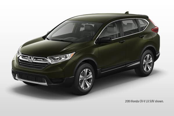 New 2019 Honda CR-V LX AWD CVT SUV