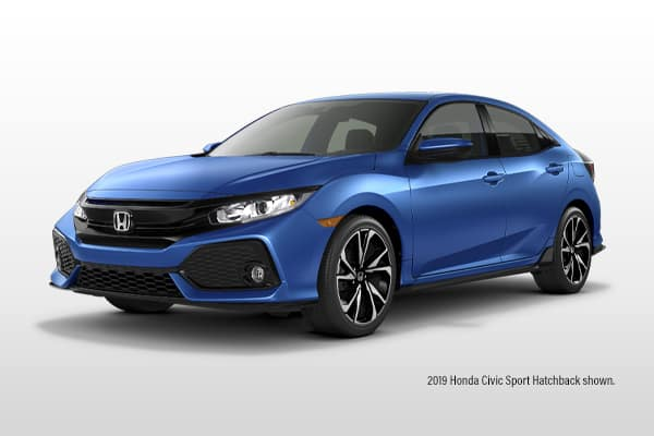 New 2019 Honda Civic Sport 6MT Hatchback