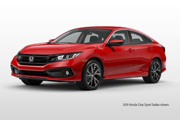 New 2019 Honda Civic Sport CVT Sedan