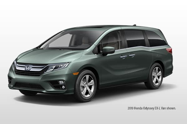 New 2020 Honda Odyssey EX-L w/ Navi & RES