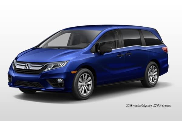 New 2019 Honda Odyssey LX Van