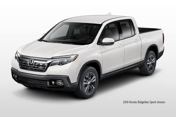 New 2019 Honda Ridgeline Sport 2WD V6 Crew Cab Pickup