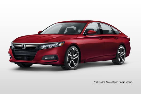 New 2020 Honda Accord Sport 1.5 CVT Sedan