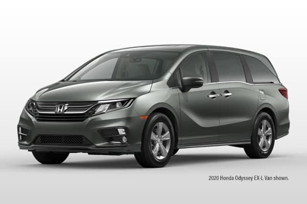 New 2020 Honda Odyssey EX-L w/Navigation & RES Passenger Van