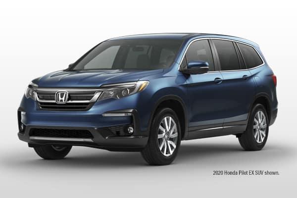 New 2021 Honda Pilot EX AWD SUV