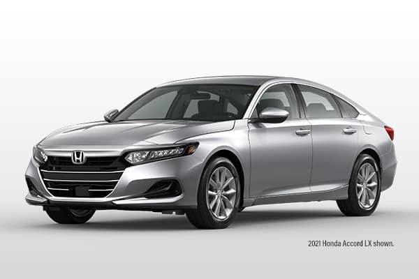 New 2021 Honda Accord LX CVT Sedan