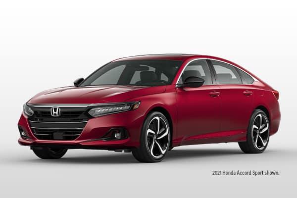 New 2021 Honda Accord Sport 1.5 CVT Sedan