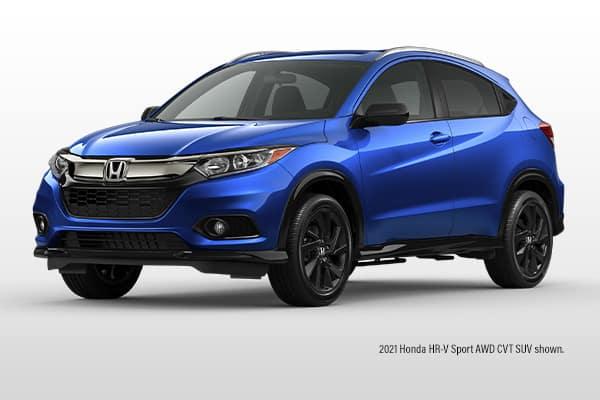 New 2021 Honda HR-V Sport AWD CVT SUV