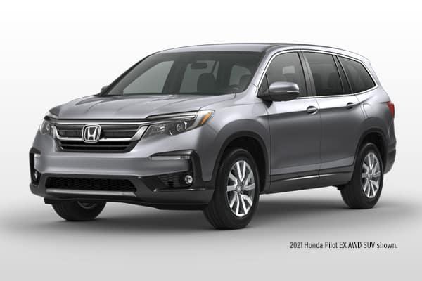 New 2022 Honda Pilot SUV