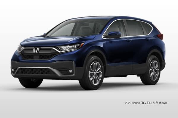 New 2021 Honda CR-V EX-L AWD CVT SUV