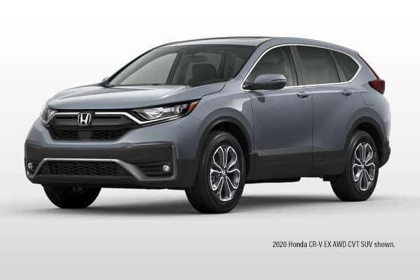 New 2021 Honda CR-V EX AWD CVT SUV