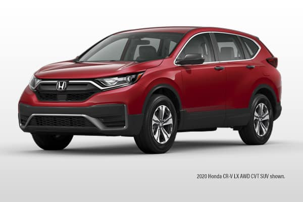 New 2020 Honda CR-V LX AWD CVT SUV