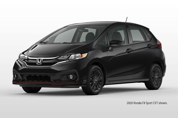 New 2020 Honda Fit Sport CVT Hatchback