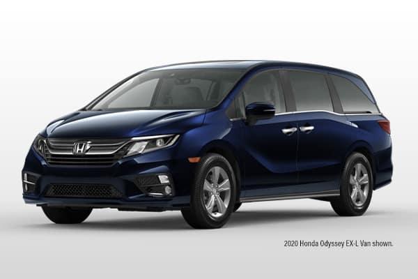 New 2020 Honda Odyssey EX-L w/Navi/ RES FWD