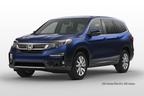 New 2021 Honda Pilot EX-L AWD SUV