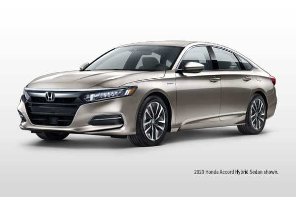 New 2020 Honda Accord Hybrid Base Sedan