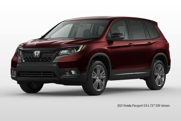 New 2021 Honda Passport EX-L AWD SUV