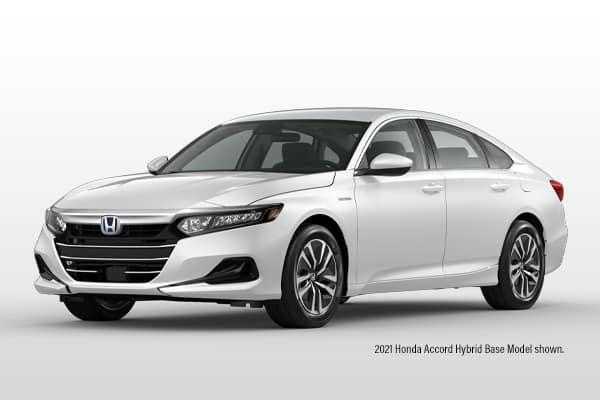 New 2021 Honda Accord Hybrid Base Sedan